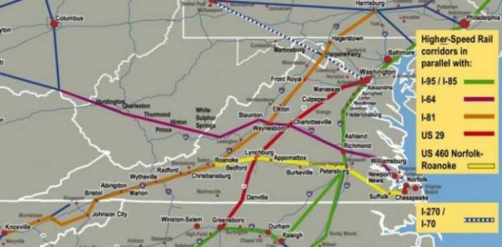 These Rail Corridors Will Be Upgraded To Steel Interstate Standards Permitting 79 Mph 110 Mph Track Speeds Accommodating